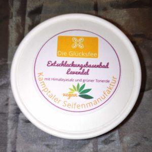 Entschlackungsbasenbad Lavendel vegan