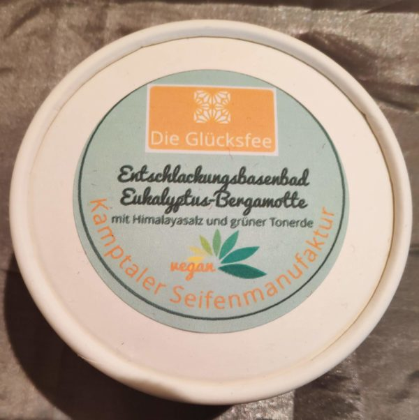 Entschlackungsbasenbad Eukalyptus-Bergamotte vegan